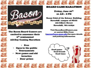 Bacon Flyer June 2015